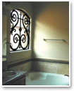Faux Iron Art lets you enjoy the look of leaded glass in every room of your home.
